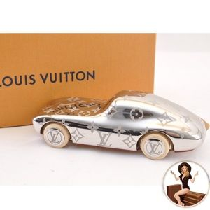 Louis Vuitton Monogram Palladium Car Paperweight